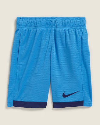 Nike Boys 4-7) Blue 2-Tone Dri Fit Mesh Basketball Shorts