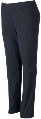 Apt. 9 Plus Size Brynn Millennium Pinstripe Pull-On Dress Pants