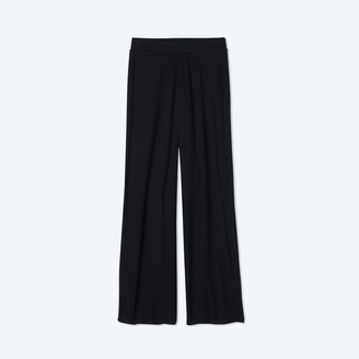 Summersalt The Softest Ribbed Wide Leg Lounge Pant - Sea Urchin
