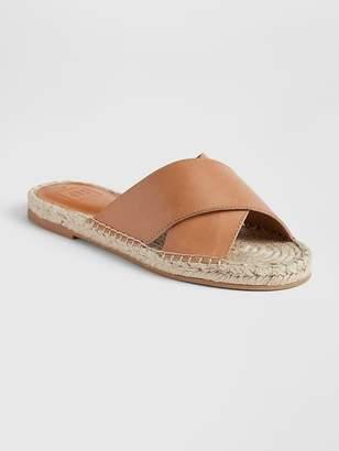 Gap Cross Strap Espadrille Sandals