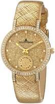 Jacques Lemans 1-1764C - Women's Watch, Leather, Multicolor