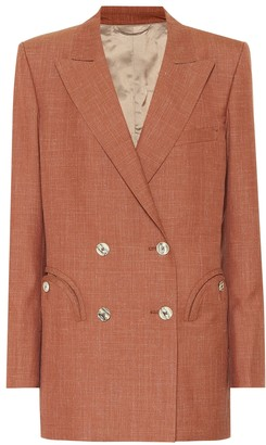 BLAZÉ MILANO Everyday wool-blend blazer