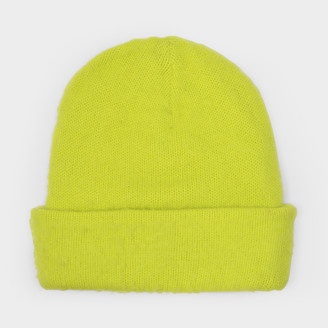 Acne Studios Sharp Yellow Peele Beanie