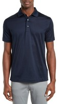 Canali Men's Slim Fit Short Sleeve Polo