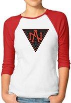 Parisama-oran Women's 2016 World Cup Of Hockey North America 3/4 Sleeve Baseball T-shirt M (2 Colors)