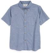 Billabong Boy's Venture Short Sleeve Woven Shirt