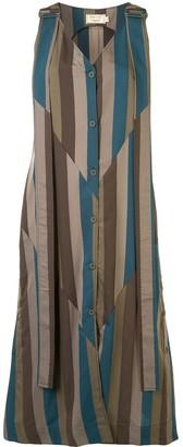 MAISON KITSUNÉ Buttoned Camisole Dress