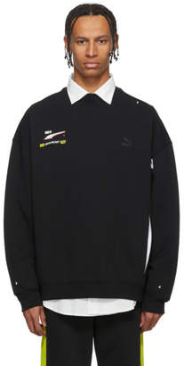 Puma ADER error Black Edition Crew Sweatshirt
