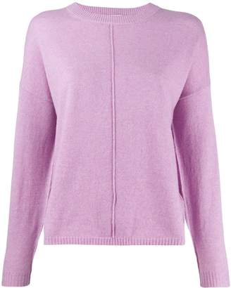Allude loose-fit crew neck jumper