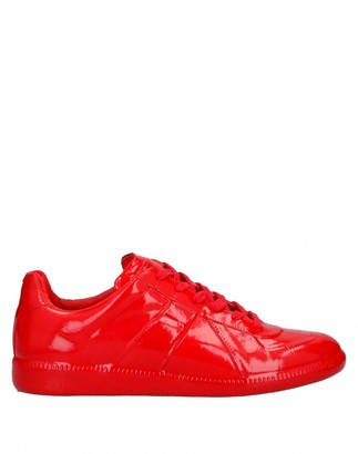 Maison Margiela Replica Red Patent leather Trainers
