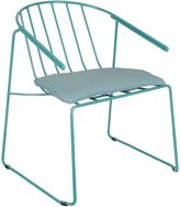 Zanui Outdoor Lounge Chairs Deltona Outdoor Lounge Chair, Blue