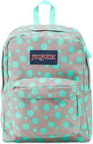 JanSport Superbreak Backpack in Gray Rabbit Sylvia Dot