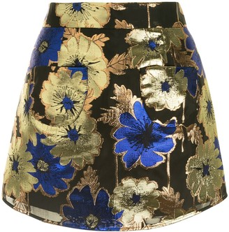 Alice McCall Night Light floral-print skirt
