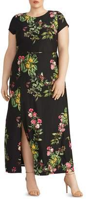 Rachel Roy Plus Camilla Floral Jersey Knit Maxi Dress