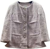 Chanel Purple Cotton Jacket for Women