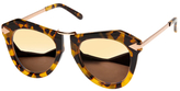 Karen Walker One Orbit Superstars Oval Frame