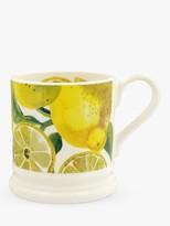 Emma Bridgewater Vegetable Garden Lemons Half Pint Mug, 280ml, Yellow/Multi