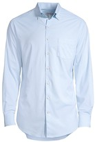 Peter Millar Stretch Cotton Check Sport Shirt