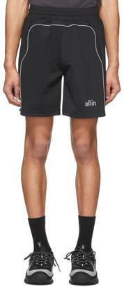 all in Black K11 Shorts