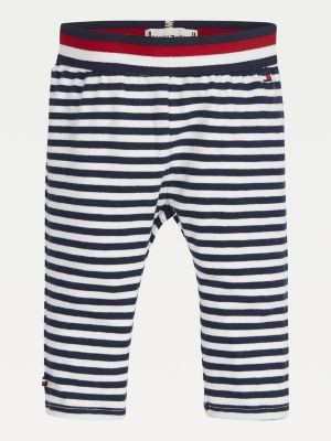 Tommy Hilfiger Stripe Knee-Length Leggings