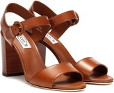 Timeless Pearly Leather sandals