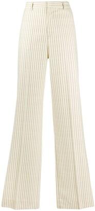 Maison Margiela Striped Flared Trousers