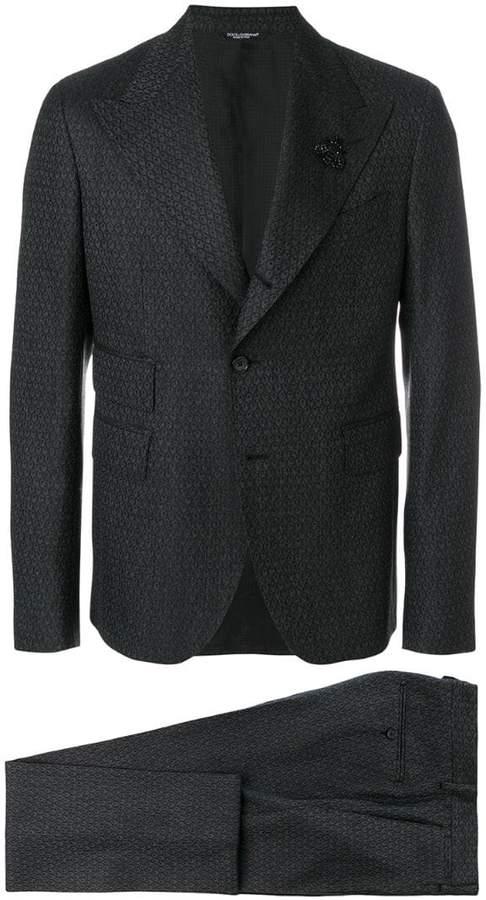 Dolce & Gabbana patterned formal suit