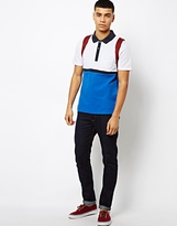Another Influence Block Polo Shirt