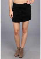 Free People Twistful Mini Skirt