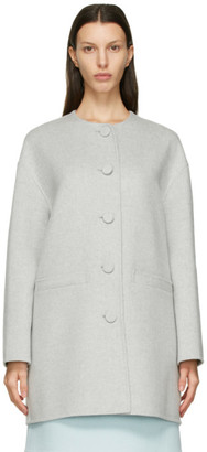 Marc Jacobs Grey Boxy Cardigan Coat