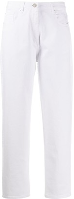 Barbara Bui Mid Rise Straight Jeans