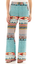 JCPenney BY AND BY by&by Print Wide-Leg Pants