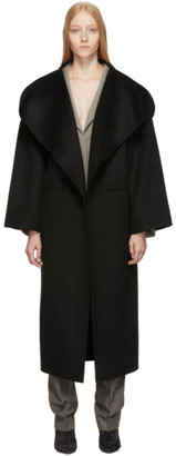 Totême Black Annecy Coat