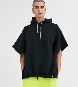 Reclaimed Vintage cut out hoody in black