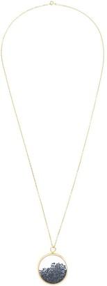 Aurelie Bidermann 'Chivoir' sapphire large necklace