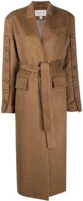 MATÉRIEL Tie Waist Long Coat
