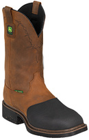 "John Deere Men's Boots 12"" Metatarsal Guard Fire-Retardant Pull-On Boot"
