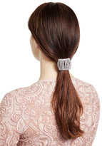 Jennifer Behr Headpieces Chiara Shimmering Ponytail Wrap, Crystal