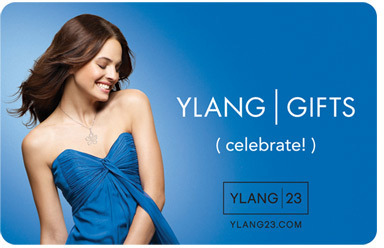 Ylang | 23 Gift Cards $200 Blue Gift Card (celebrate!)