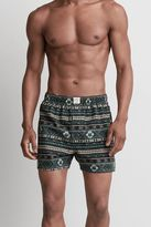 American Eagle Outfitters AE Leaf Fair Isle Flannel Boxer