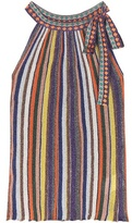 Missoni Metallic striped top