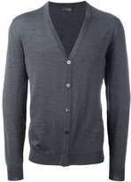 Drumohr v neck cardigan - men - Merino - 52