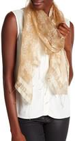 Saachi Printed Sheer Silk Wrap