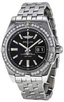 Breitling Men's BTA49350LA-BA07SS Galactic 41 Analog Display Swiss Automatic Silver Watch