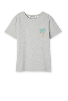 Country Road Palm Embroidered T-Shirt