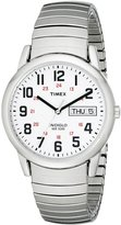 Timex Men's T204619J Easy Reader -Tone Stainless Steel Expansion Band Watch