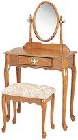 Acme 02337A- Queen Ann 2-Piece Wood Veneer Vanity Set, Finish