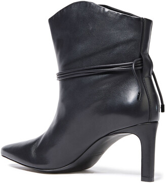 Zimmermann Tie-detailed Leather Ankle Boots