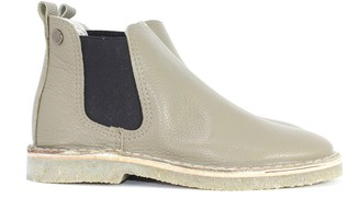 Jonny's Taupe Chelsea Bootee - 39 - Black/Natural