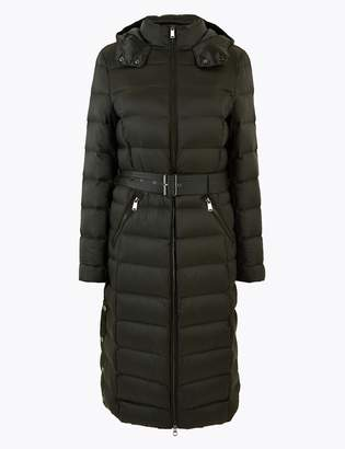 M&S CollectionMarks and Spencer Feather & Down Belted Coat